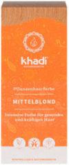 Khadi Plantaardige haarverf middelblond00 g 100 g
