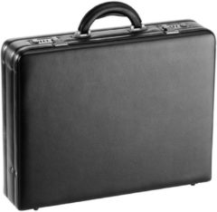 Tradition Aktenkoffer Leder 45 cm D&N schwarz