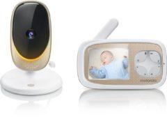 Witte Motorola Comfort40 Connect babyfoon - video - waar je ook bent