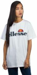 Witte Ellesse Albany T-Shirt Dames T-shirt Maat S