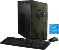 Hyrican Gaming PC Intel® Pentium® G4560, 8GB, 1TB, GeForce® GTX 1050 »CyberGamer forest 5565 «