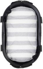 Airbuggy mat voor dome2 sm streep grijs / wit