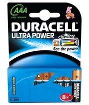 Duracell Ultra LR03 AAA batterij (potlood) Alkaline (Alkali-mangaan) 1.5 V 8 stuks