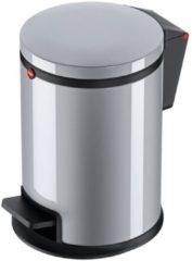 Hailo Pure S 0504-020 Pedaalemmer 3 l Plaatstaal (Ã x h) 178 mm x 280 mm Zilver Voetpedaal 1 stuk(s)