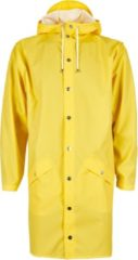 Gele Rains Long Jacket 1202 Regenjas - Unisex - Yellow