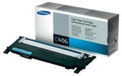 Samsung Tonercassette CLT-C406S ST984A Origineel Cyaan 1000 bladzijden