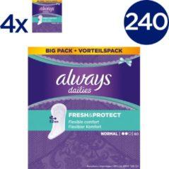 Always Dailies Fresh & Protect - 240 Stuks - Inlegkruisjes