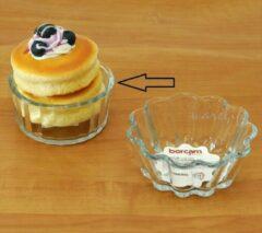 Transparante Pasabahce Borcam – Mini Glazen Bakvorm – Set van 3