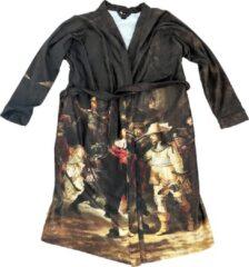 Art badjassen Badjas met Nachtwacht opdruk – Unisex – Bathrobe – Maat XL
