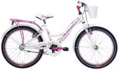 Rosa 20 Zoll Mädchen Fahrrad Adriatica Girl Adriatica weiß-pink