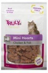Truly Hartvormige Kattensnacks van Kip en Vis (20 zakjes)