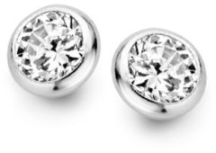 Casa Jewelry La Mer Small oorknopjes van zilver