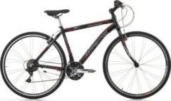 28 Zoll Cinzia Fitness Herren Mountainbike Aluminium 21... matt-schwarz, 48cm