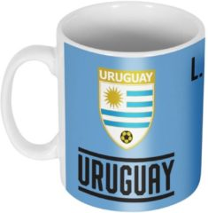 Blauwe Re-take Uruguay Suarez 7 Team Mok