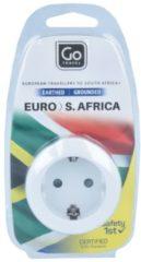 GoTravel EURO-SOUTH AFRICA ADAPTER 55 CM Reiseelektronik weiß