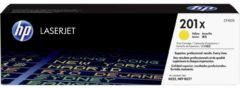 HP 201X CF402X Tonercassette Geel 2300 bladzijden Origineel Tonercassette