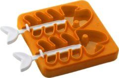 E-my Igloo - Waterijsjesvorm - Vissengraat - Oranje