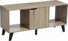 Naturelkleurige Merkloos / Sans marque Eazy Living TV-meubel Aris Hout