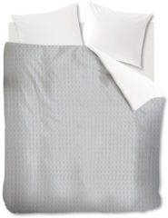 Grijze Ariadne At Home At Home Living - Dekbedovertrek - Eenpersoons - 140x200/220 cm + 1 kussensloop 60x70 cm - Grey