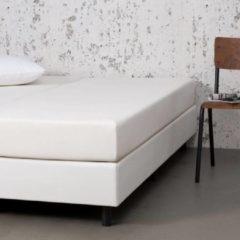 Witte Fresh & cold Comfort Hoeslaken - Crème - 160x200 cm - Jersey Stretch - Fresh & Co