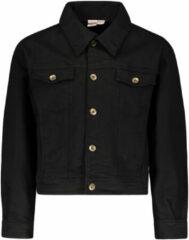 Zwarte Street Called Madison Meisjes vesten Street Called Madison Luna denim jacket BOOM BK 6/116