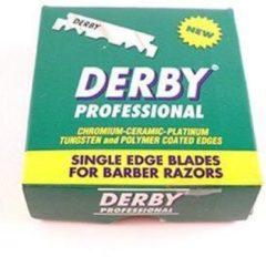 Derby Professional Razor Scheermesjes - 100 Stuks