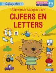 Deltas Oefen Je Slim! Allereerste Stappen Naar Cijfers En Letters (4-5 Jaar)