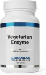 Vegetarische enzymen (60 tabletten) - Douglas Laboratories