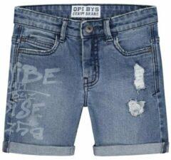 Blauwe Quapi Jongens Short 128