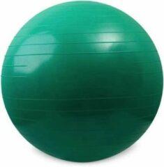 Blessureherstel.nl Fitnessbal - 65 centimeter - groen - inclusief pomp
