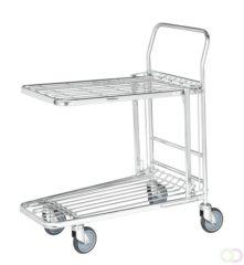 13-1650 C+C wagen Inklapbaar Staal Verzinkt Laadvermogen (max.): 300 kg