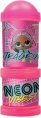 L.O.L. Surprise! schoolbeker Neon Vibes! met snackbox junior roze