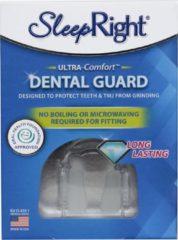 Naturelkleurige Sleepright Ultra-Comfort Knarsbitje | Zelf instelbaar - maat S t/m XL | Gebitsbescherming tegen Tandenknarsen / Bruxisme | Direct te gebruiken voor elke gebitsmaat | Made in US