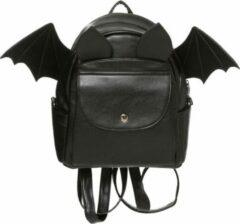Zwarte 'Waverley' vleermuis vleugels rugzak - Banned
