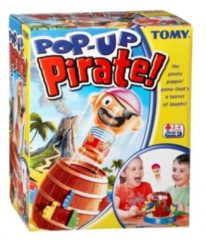 Bruine TOMY Pop Up Piraat - Kinderspel