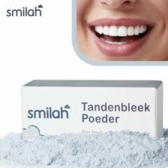 Donkerblauwe Smilah Tandenbleek Poeder — Tanden Bleek voor Witte Tanden — Teeth Whitening — Tanden Bleken