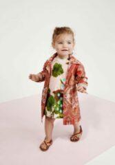 Roze Oilily Doek jurkje van katoen met prachtige natuurprint