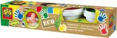 SES Creative vingerverf Eco 4 stuks multicolor