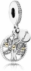 Zilveren Pandora Hangbedel 'Familie-stamboom' 791728CZ