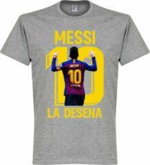 Retake Messi La Desena T-Shirt - Grijs - L