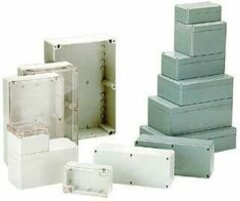 HQ Products WATERBESTENDIGE ABS BEHUIZING - DONKERGRIJS 64 x 58 x 35mm - HQ Produc