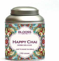 BLOOSS coffee Happy Chai | kruidenthee | losse thee | 150g | in theeblik
