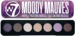 W7 Moody Mauves Purple Passion Eye Colour Palette