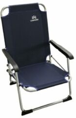 Human Comfort Chair Low Blue Strandstoel