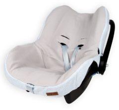 Lichtblauwe Baby's Only hoes autostoeltje 0+ Classic poederblauw