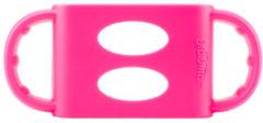 Dr. Brown's Siliconen Handvat voor brede halsfles - roze