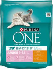 Purina One Junior - Kattenvoer - Kip Granen 800 g - Kattenvoer