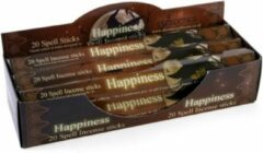 Lisa Parker Wierook 6 x 20 stokjes - Happiness