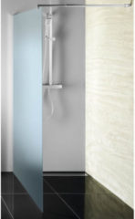 Inloopdouche Sapho Walk-In 70x190 cm met Muurprofiel Chinchilla Glas