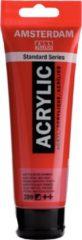 Royal Talens Standard tube 120 ml Naftolrood donker halfdekkende acrylverf naftol rood donker